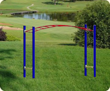 The Curve Bridge Monkey Bars