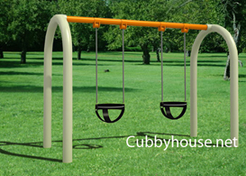Infant swingset