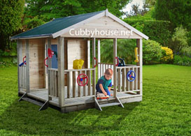 Active Playground Cubby House