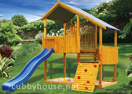 jungle_tower Cubby House