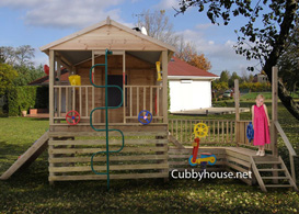 Kids Works Cubby House