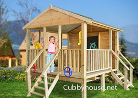 Play Shak Cubby House