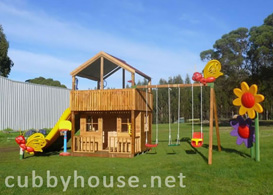 Sky Fort Cubby House