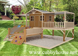 timber top Cubby