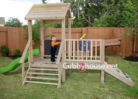 Turtle Tower  Cubby House