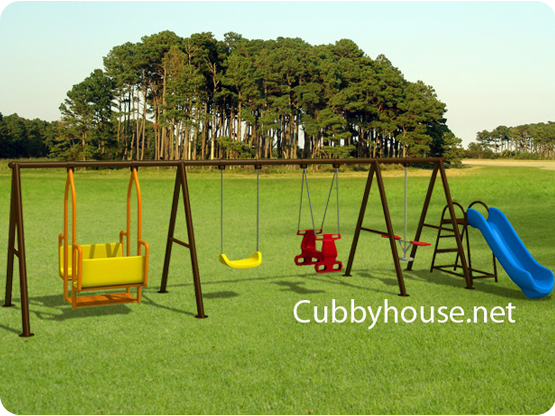 Deluxe Outdoor Playground
