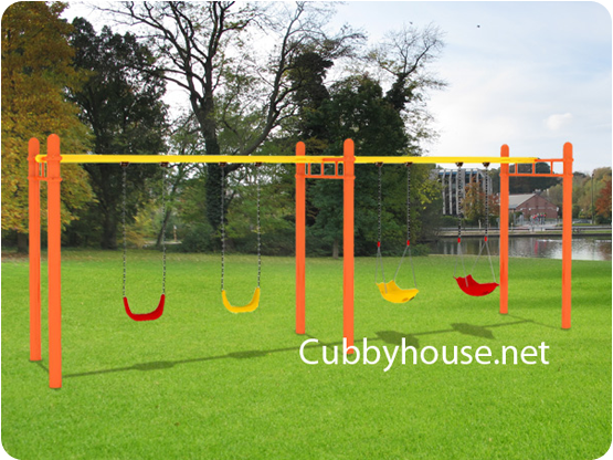 Orange Surprise Cubby House