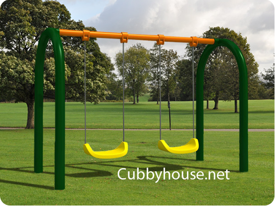 Twin Swing Set