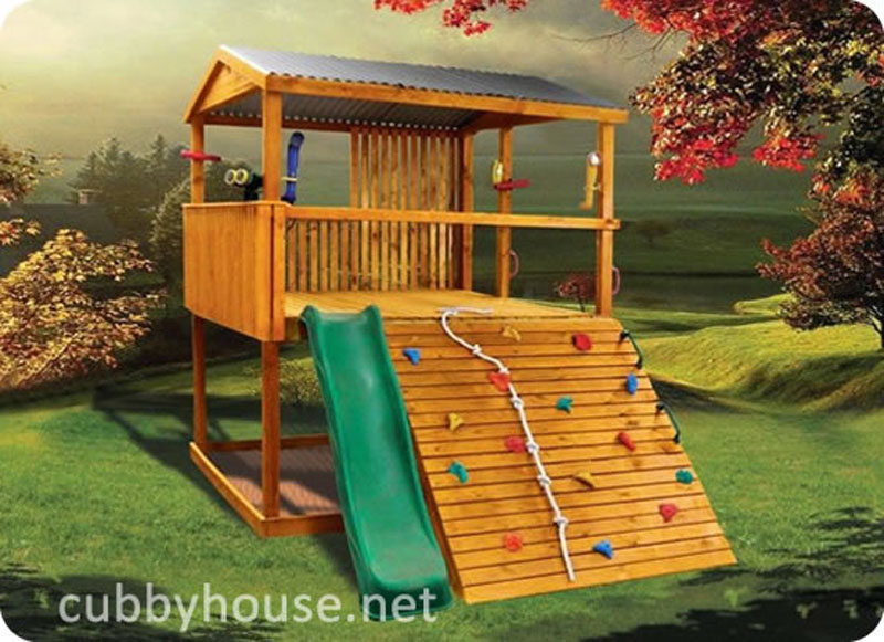Adventure Pack cubby house, cubby house Asutralia, wooden cubby house, diy cubby house kits, cubby houses