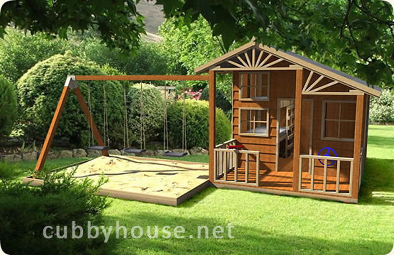 Kids Playing On Swing Sets Helps Them Learn Balance And