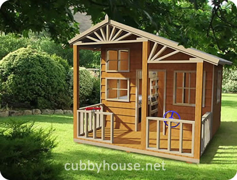 Alpine Lodge cubby house, cubby house australia, cubby houses for sale, cubby houses