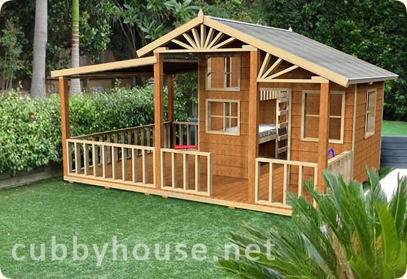 Bandicoot Castle cubby house, australian-made, kids cubby houses, cubby houses for sale, cubby houses