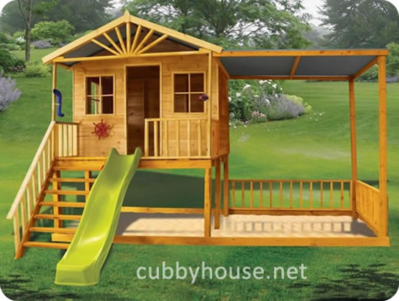 Birchwood cubby house, australian-made, wooden cubby house, diy cubby house kits, cubby houses