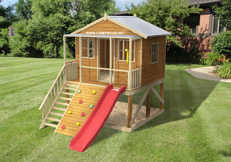 Blue Gum cubby house, australian-made, kids cubby houses, cubby houses for sale, cubby houses