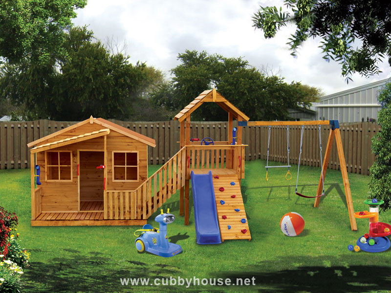 Chipmonk Kindy Gym cubby house, australian-made, kids cubby houses, cubby houses for sale, cubby houses