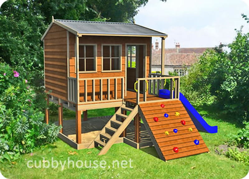 Hamster Hideout cubby house, australian-made, outdoor playground equipment, diy cubby house kits, cubby houses