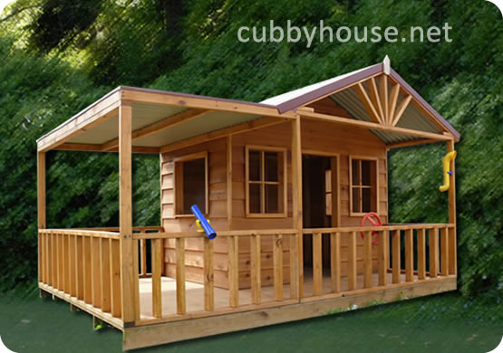 cubby house kids outdoor toys