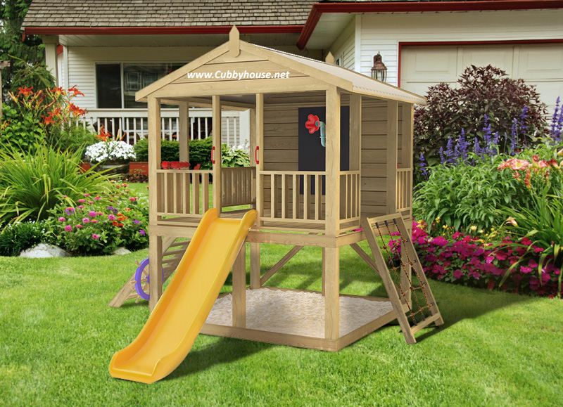 Mangopak  cubby house, australian-made, wooden cubby house, diy cubby house kits, cubby houses