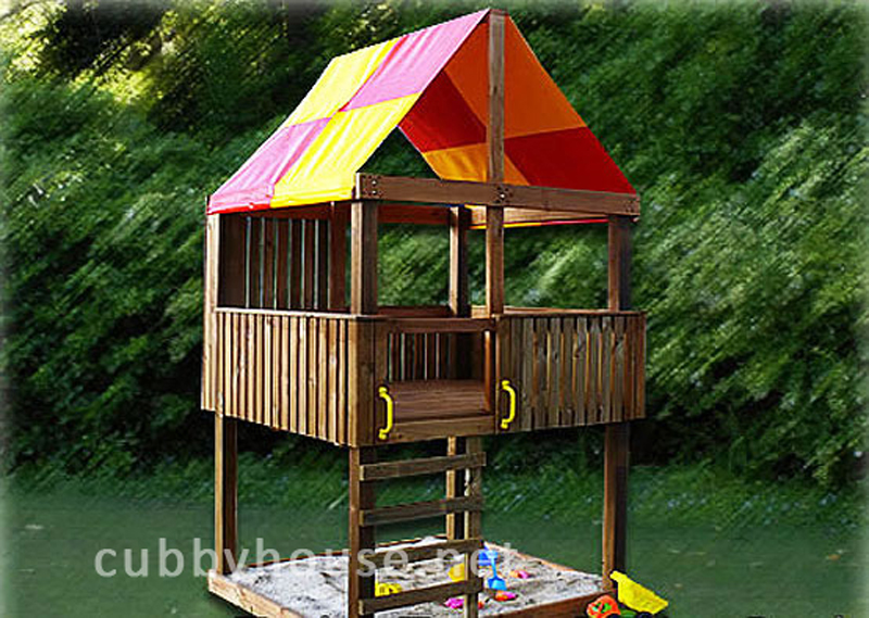 Turbo Tower Junior Pack Cubbyhouse, australian-made, outdoor playground equipment, diy cubby house kits, cubby houses